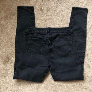 Bullhead denim black skinny jeans